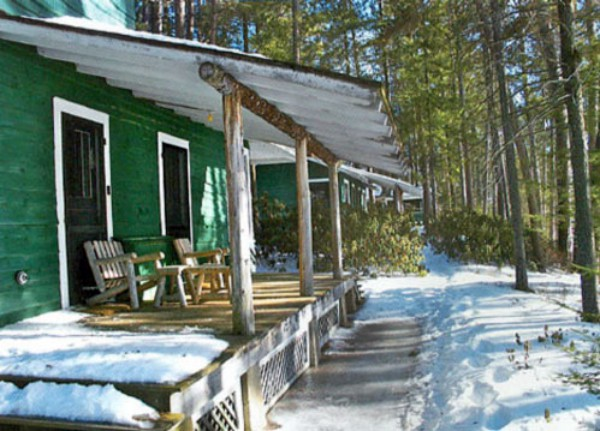Cabins in Winter
